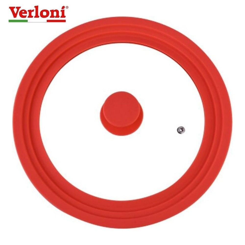 Copertura universale Verloni VL LD8SLURd, rosso, diametro 24/26/28 centimetri