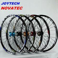 Колеса для горного велосипеда novatec041042 Joytech передние 2 задние 4 подшипника Япония ступица Супер Гладкие колеса колесная Rim26 27,5 29in