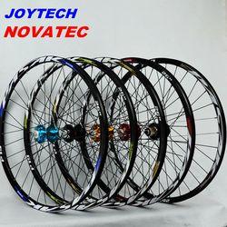 Колеса для горного велосипеда novatec041042 joytech передний 2 задний 4 подшипник Япония ступица супер гладкое колесо колесная колесо Rim26 27,5 29in