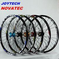 mountain bicycle wheels novatec041042 joytech front 2 rear 4 bearing japan hub super smooth wheel wheelset Rim26 27.5 29in