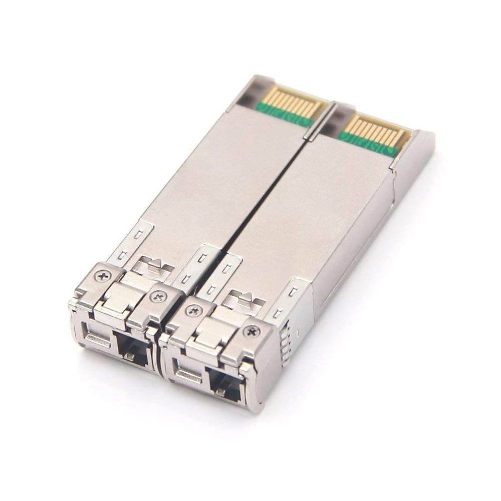 Un par 20 km 10 Gb SFP BIDI para SFP-10G-BXD-I / SFP-10G-BXU-I - Equipos de comunicación - foto 2
