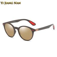 Солнцезащитные очки tr90 круглые polaroid в стиле ретро для
