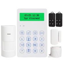 Voice Prompt 433mhz wireless keypad GSM Alarm system android IOS APP control with anti tamper function wired siren