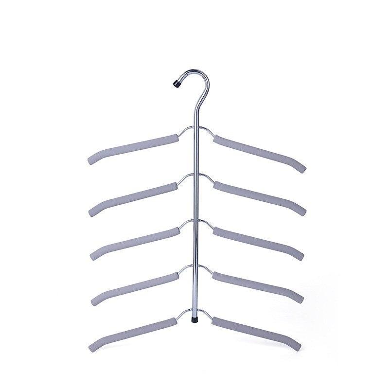 Non-slip Multi-layer Hanger Stainless Steel Magic Hanger Creative Drying Rack Clothes Storage Rack
