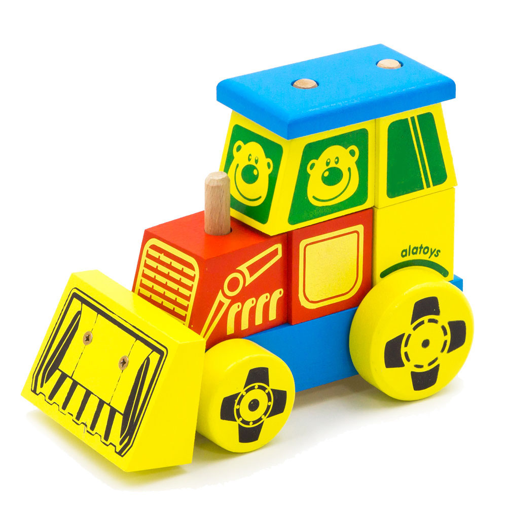Blocks Alatoys KTR01 play designer cube building block set cube toys for boys girls barrow toywood bela 10641 860pcs city series volcanic exploration base model building blocks set bricks toys for children gift 60124
