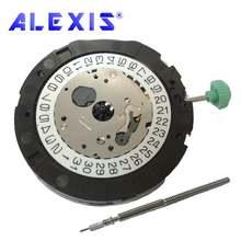 Кварцевые часы miyota 0s22 часовой механизм 135 1/20 сек хронограф