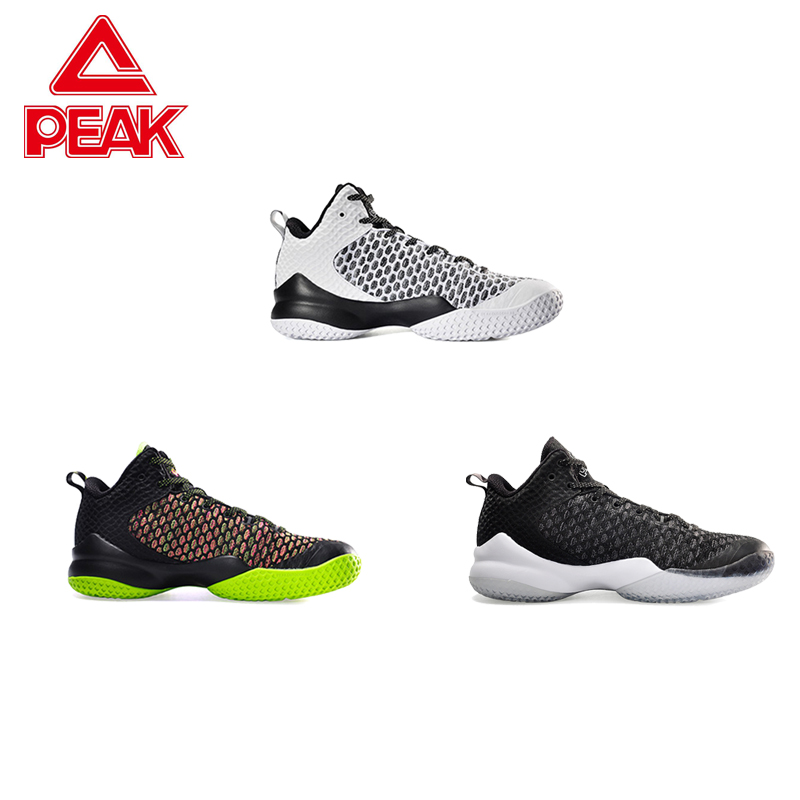 PEAK Lou Williams Street Master Professional Damping Cushioning Tech Sneakers Basketball Shoes Men Breathable Seamless Upper