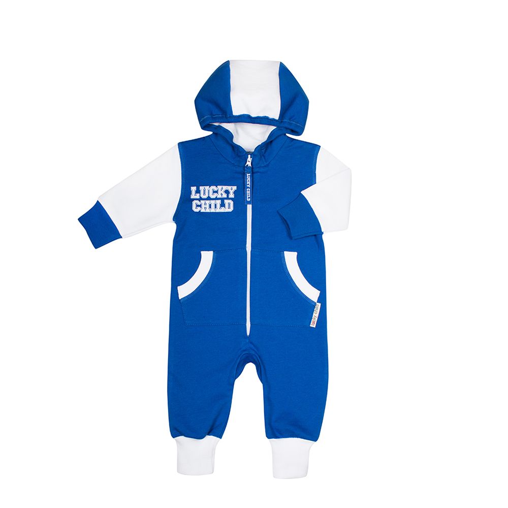 Jumpsuit Lucky Child for girls and boys 8-3 (3M-24M) Children's clothes kids 0 24m newborn baby girl clothes infant bebes long sleeve cotton romper jumpsuit one pieces outfit