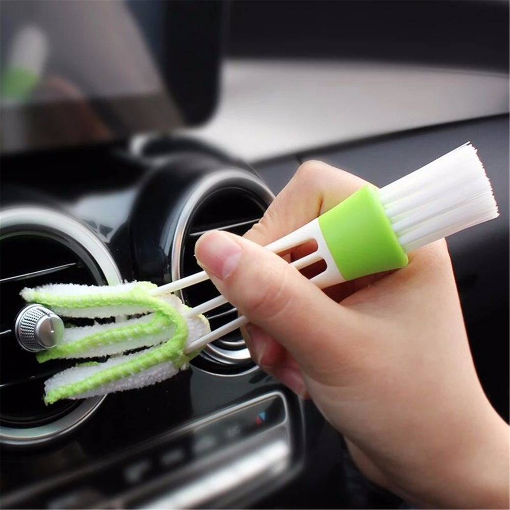 Multi-Functional Car Cleaning Brush Tools Microfiber Duster Auto Cleaning Accessories Products For BMW VW Nissan Ford Audi A4 A6