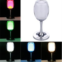 Table Lamp Acrylic Warm White RGB Colorful LED Desk Reading Night Light for Indoor Festival Bar Decoration Birthday Gift