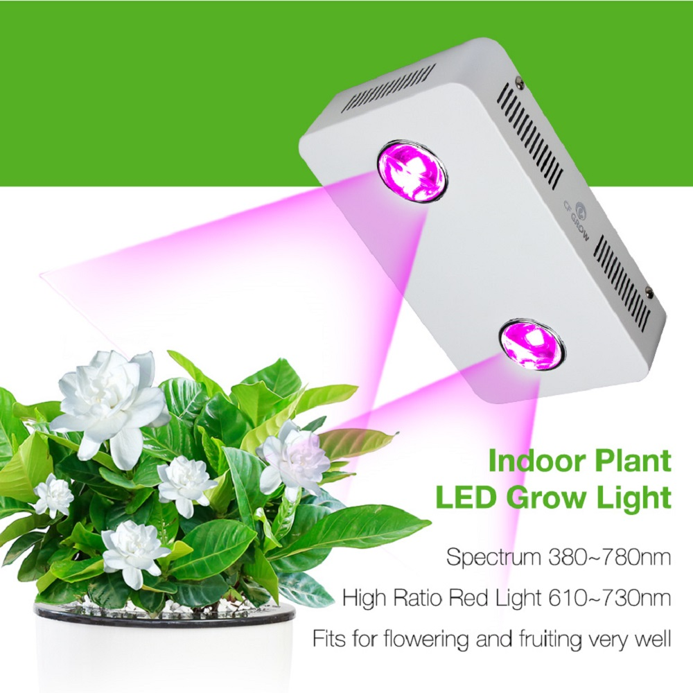 CF grandir 300 W COB LED grandir lumière spectre complet intérieur hydroponique serre plante croissance éclairage remplacer UFO lampe de croissance
