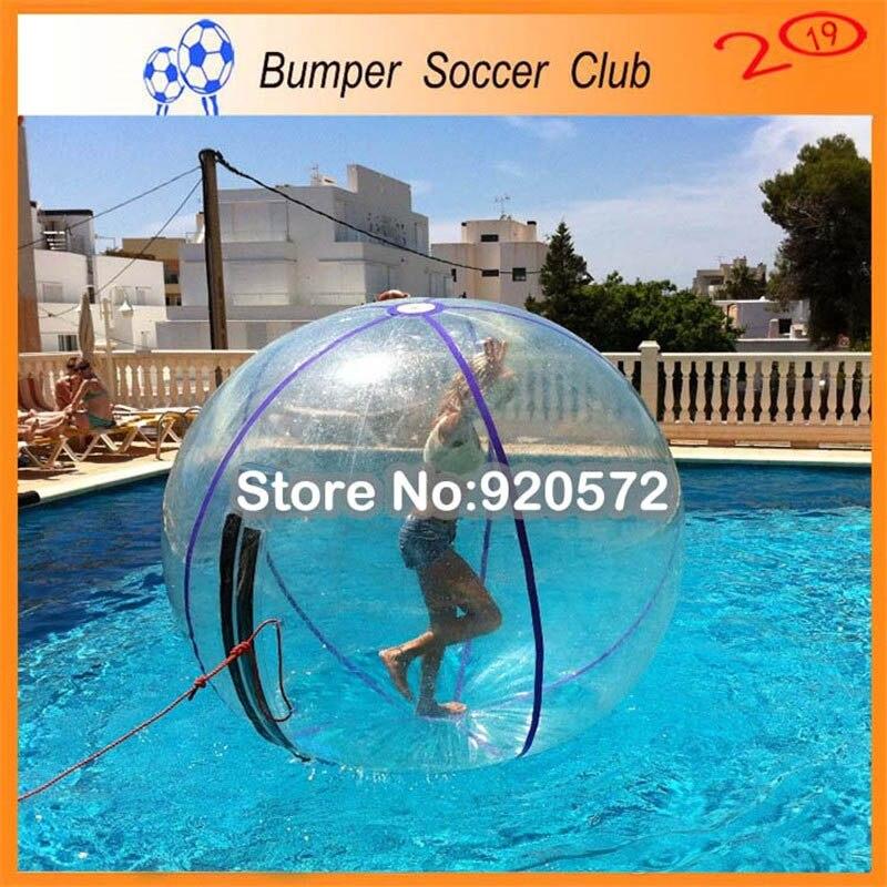 Livraison gratuite pas cher transparent gonflable marche eau balle piscine humaine hamster eau marche balle