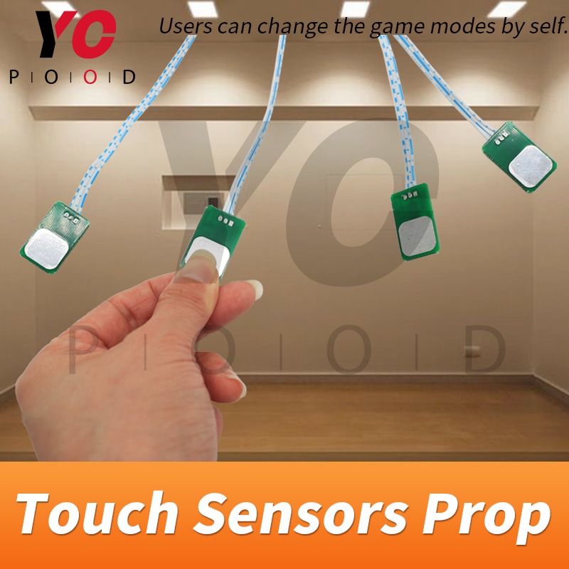 Image 5 - YOPOOD Touch Sensor Prop Escape Room Touch in Correct Sequence to Unlock Takagism Game Real Life Adventure Game Chamber Room-in Access Control Kits from Security & Protection