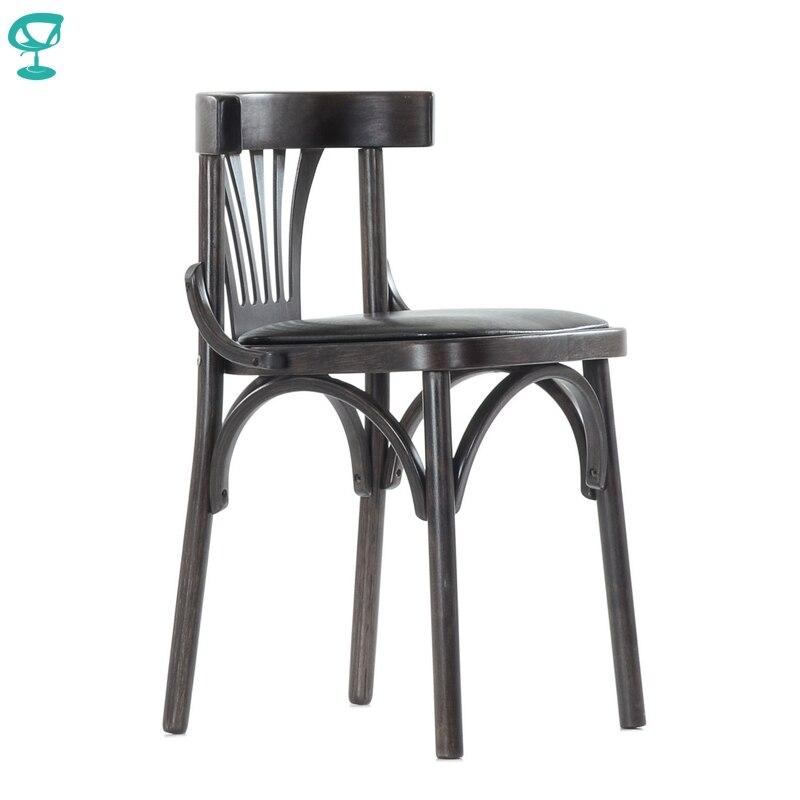 2118 Barneo Viennese chaise en bois siège souple dîner chaise tabouret intérieur chaise meubles de cuisine Wenge livraison gratuite en russie
