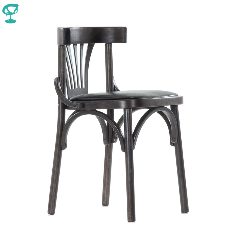 2118 Barneo Viennese Wooden Chair Soft Seat Dinner Chair Interior Stool Chair Kitchen Furniture Wenge Free Shipping In Russia