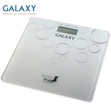 Весы напольные Galaxy GL 4806 (Максимальная нагрузка до 180кг, точность измерения 100грамм, LCD-дисплей, ультратонкий дизайн, автовкл/откл, сверхточная сенсорная система датчиков)
