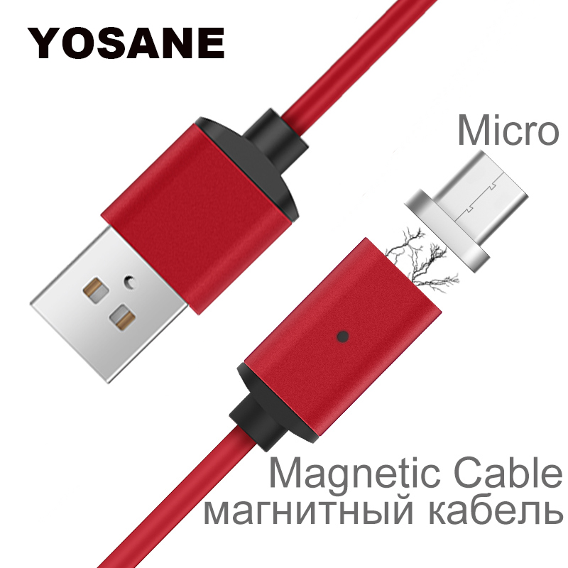 Magnetic Cable Charger Micro USB Braided Magnet Fast Charging Wire For Samsung Galaxy S3 S4 S5 S6 S7 Edge Android Mobile Phone Зарядное устройство