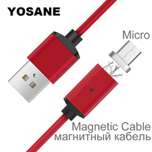 Magnetic Cable Charger Micro USB Braided Magnet Fast Charging Wire For Samsung Galaxy S3 S4 S5 S6 S7 Edge Android Mobile Phone цена