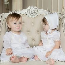 Крестильный комплект Lucky Child для мальчиков и девочек (рубашка, комбинезон, боди, блузка, шапочка, полотенце)