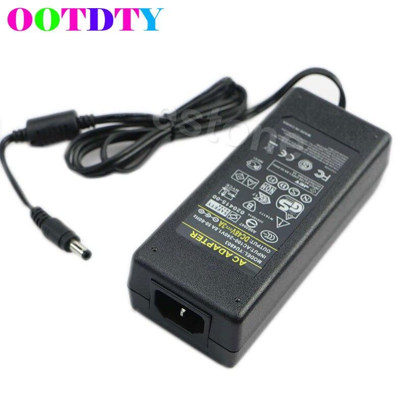 OOTDTY AC 100-240 V zu DC 48 V 3A 120 W Power Adapter Port 5,5mm x 2,5mm für PoE Schalter APR10_35