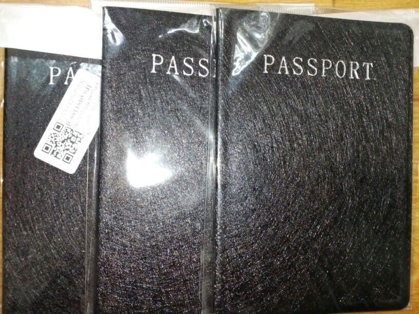 Fashion PU Card Holder Women Travel Waterproof Passport Holder Business Passport Cover ID Credit Card Holder Men Passport Wallet photo review