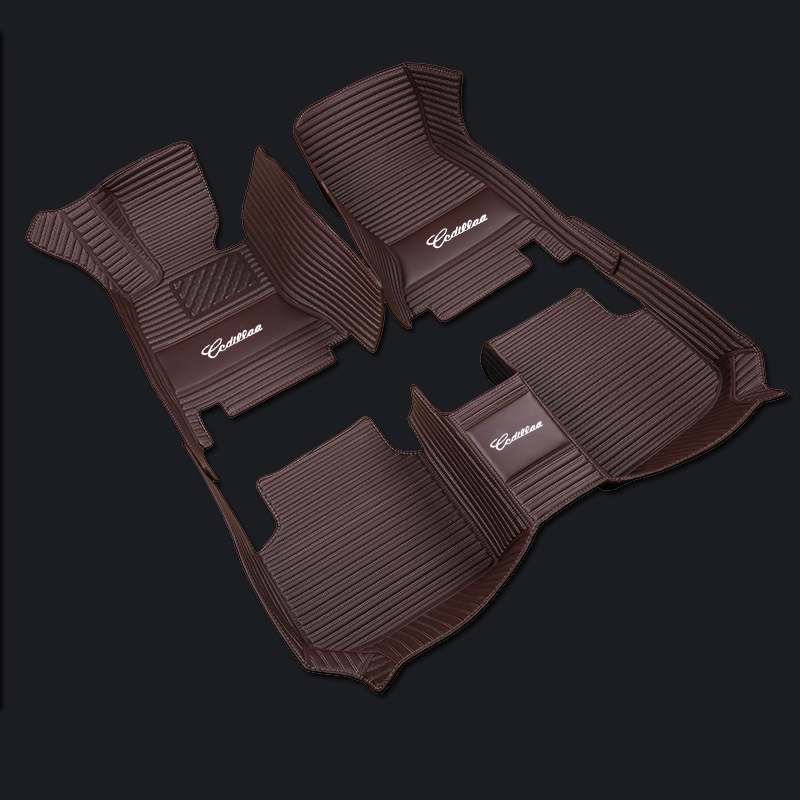 ZHIHUI Custom car floor mats high-end chinese embroid for Audi A1 A3 A4 A4l A5 A6 A6L A7 A8 Q3 Q5 Q7 S and RS series