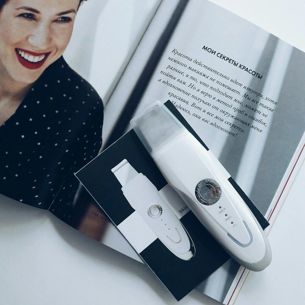Ультразвуковой скраббер для лица с Алиэкспресс