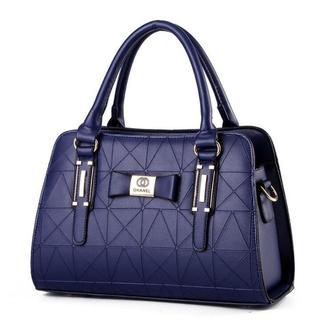 Women Handbag PU Leather Shoulder Bags Lady Large Capacity Crossbody Office Hand Bag 2