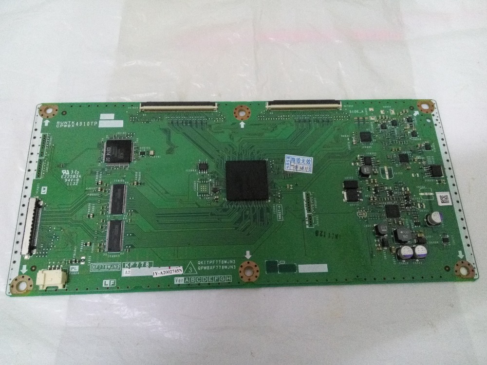 цена QKITPF778WJN3 LCD Board Logic board for QPWBXF778WJN3 4910TP T-CON connect with connect board