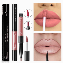 16 Color Liquid Lipstick Matte Red Lip Long Lasting Waterproof Make Up Mate Lip Stick Nude