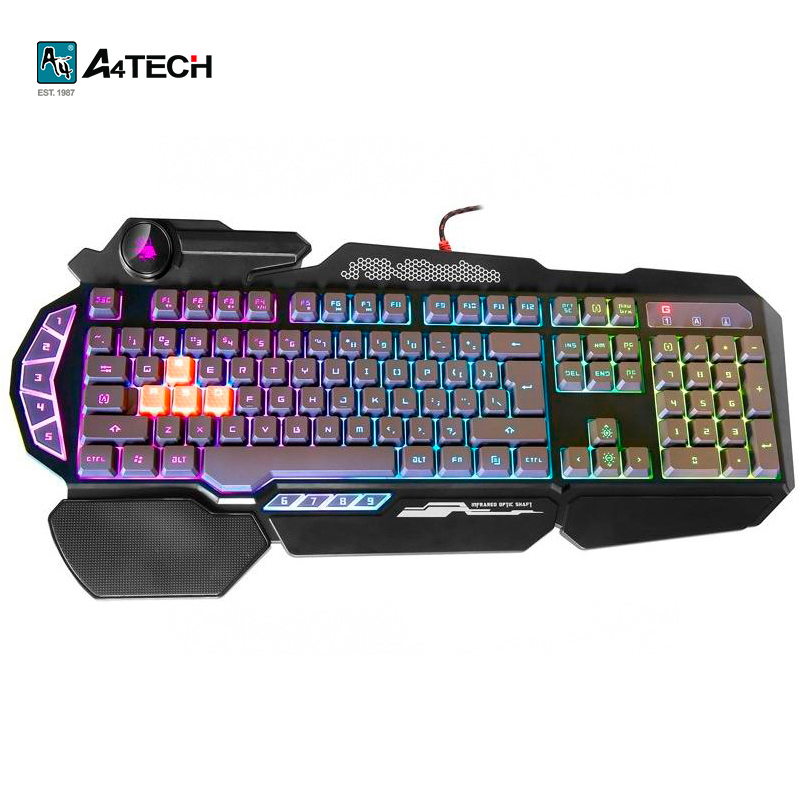 Gaming keyboard A4Tech Bloody B314 Officeacc gaming mouse a4tech bloody a9 officeacc