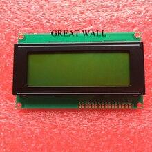 1 шт. ЖК-дисплей Совета 2004 20*4 ЖК-дисплей 20×4 5 В желто-зеленый экран ЖК-дисплей 2004 дисплей ЖК-дисплей модуль ЖК-дисплей 2004