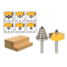 Yonico 13170 Round Over Edging Router Bit With 1-1/4-inch Radius 1/2-inch Shank