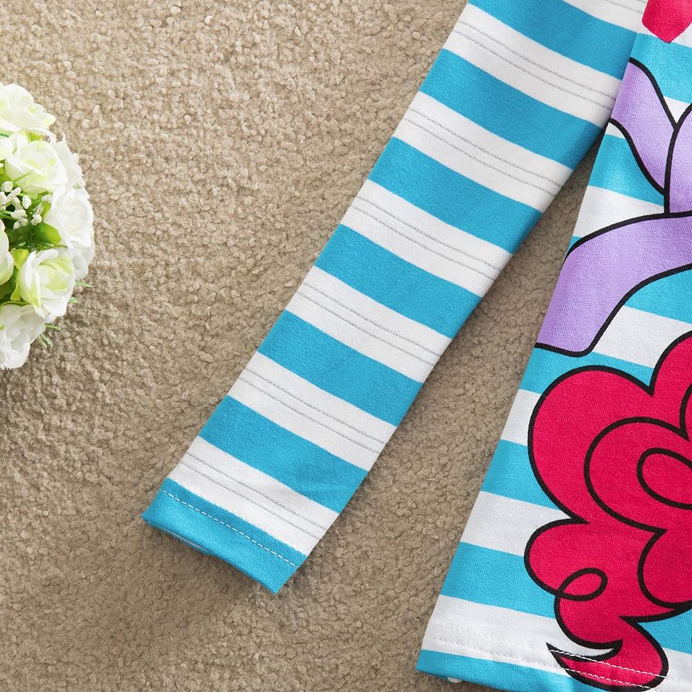 NEAT Dziewczynka długie rękawy koszula moda słodki kolor cute - Ubrania dziecięce - Zdjęcie 4
