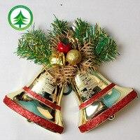 Новогодние колокольчики елочные украшения Новое поступление на Новый год продукты 13 см 2 шт. для сумка