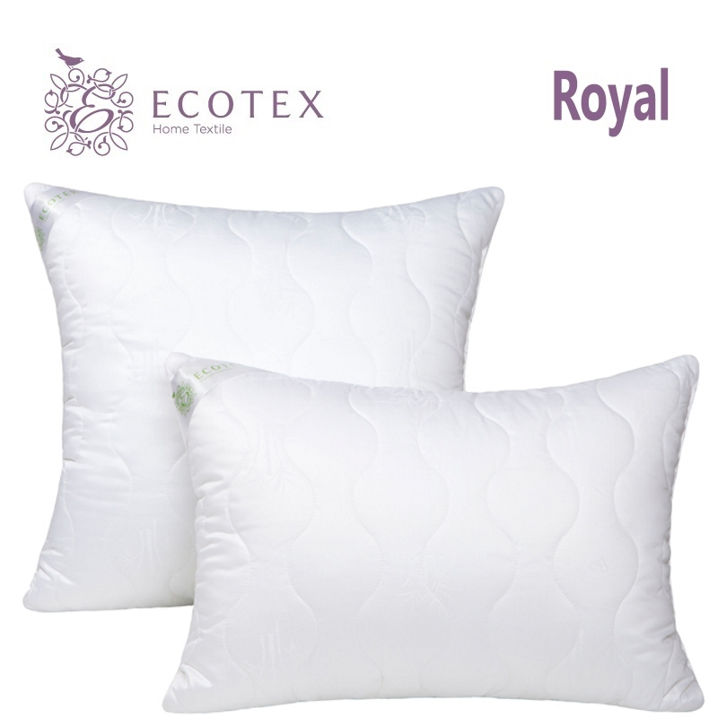 Pillow Bamboo collection Royal. Production company Ecotex(Russia). pillow fiber collection comfort production company ecotex russia