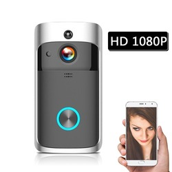 Smart Wireless Video Door Phone WiFi Security DoorBell Smart Visual Recording Low Power Consumption Remote Home Monitoring