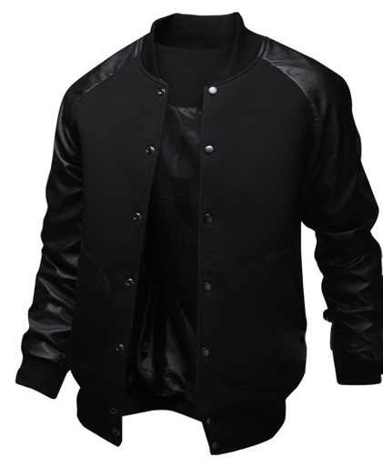 Geek New Men's Jacket Big Pocket Slim Baseball