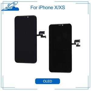 Image 1 - Elekworld Grade Voor Amoled Getest Werken Goed Lcd S Voor Iphone X Xs Lcd Display Met 3D Touch Screen Digitizer Vergadering onderdelen
