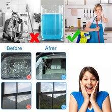 10PCS/Pack(1PCS=4L Water)Car Solid Wiper Fine Seminoma Wiper Auto Window Cleaning Car Windshield Glass Cleaner Car Accessories