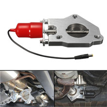 Exhaust-Valve Remote-Control Electric Car Motor-Kit Complete-Installation Aluminum-System