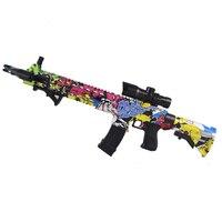 Недавно AK47 пластиковое игрушечное ружье Ват M4 игрушечный пистолет гель мяч Blaster Снайпер воды пулевые пистолеты аксессуары для игр на улице, ...