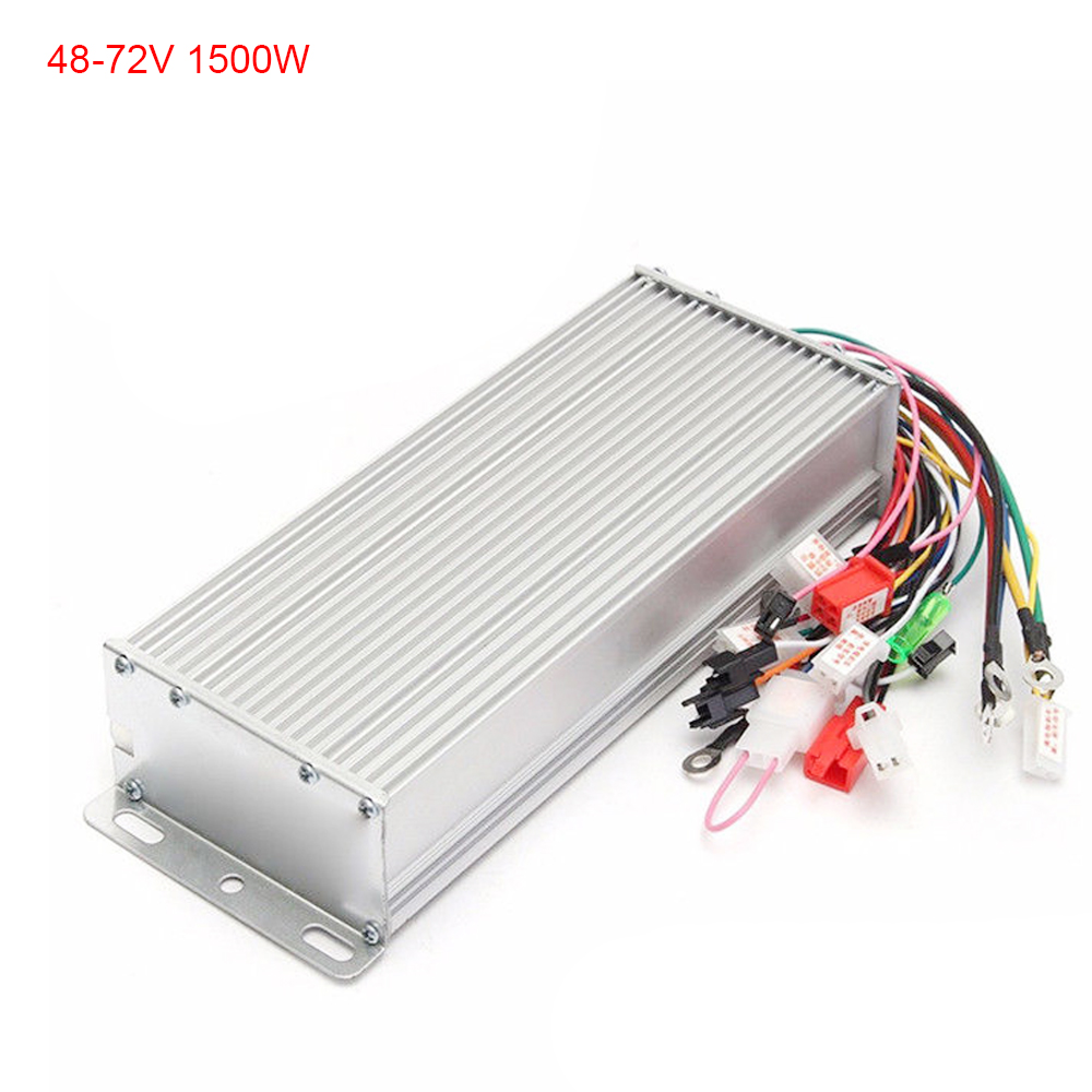hight resolution of 48v 72v 1500w electric bicycle e bike scooter brushless motor speed controller
