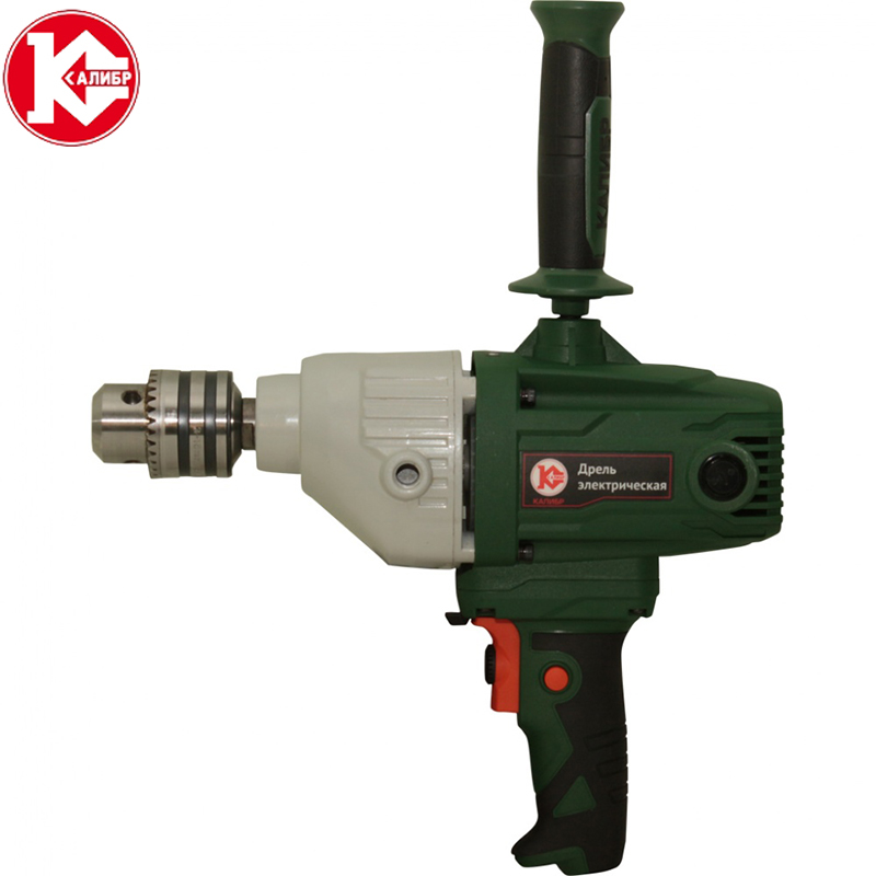 Kalibr DE-1100EMX  Electric Cement Mixer Stirring drill Aircraft drills High-power paint mixer putty powder cement paint new brand 1pc dc 5v diy mini micro small electric aluminum hand drill for motor pcb high quality