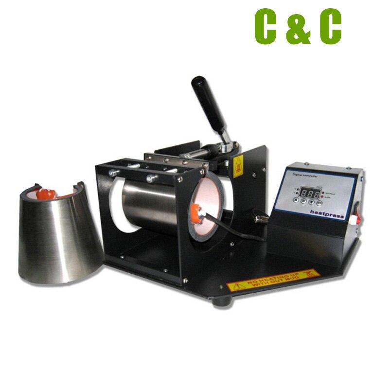 Самый дешевый комбо 17 унций КОНУС 11 унций круглый горизонтальный цифровой ручной кофе чашка отопление передачи печати кружка машина NO. MP160 - 3
