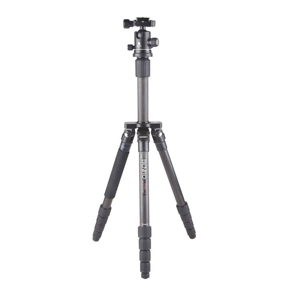 Benro Traveler Flat Series Tripod 29mm max pipe diameter,C2192T tripod + B1 head Professional Loading Carrying Bag