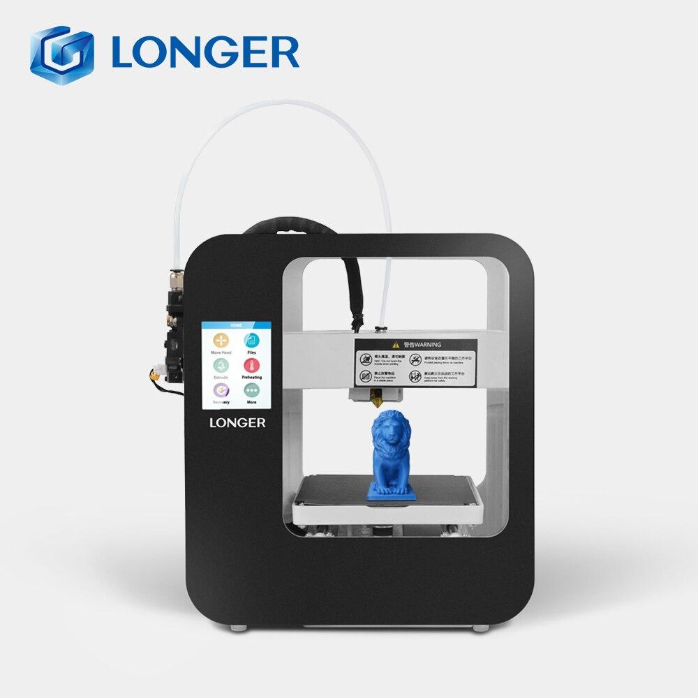 Длиннее Cube2 FDM 3d принтер Longer3d FDM 3d принтер Impresora 3d Drucker
