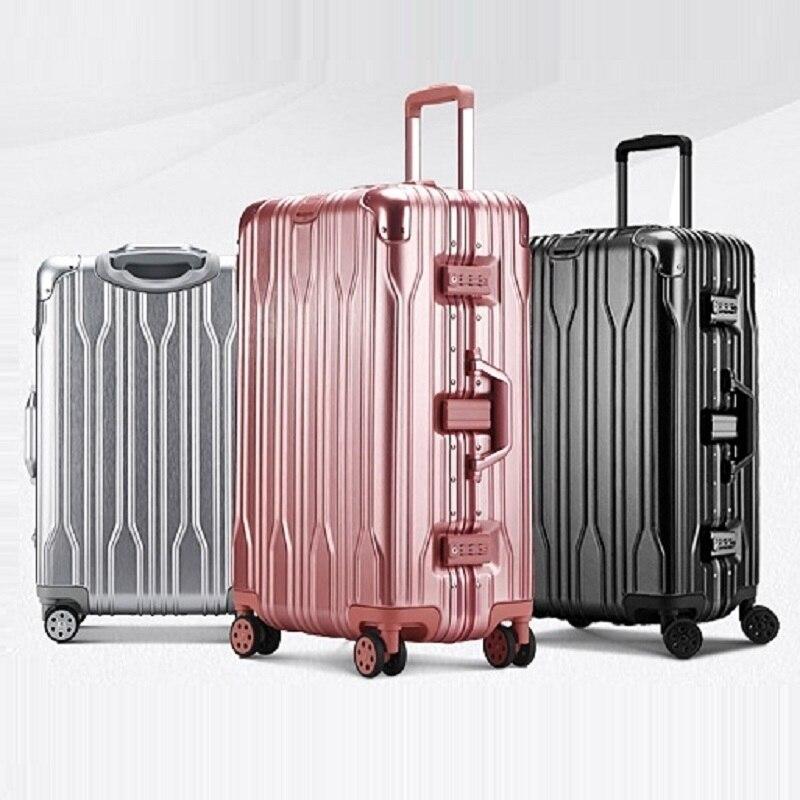 Turystyczna Kids Valise Enfant Set och resväskan Aluminium Alloy - Väskor för bagage och resor - Foto 2