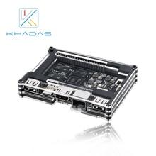 Khadas VIM1 основной демо доска Amlogic S905X 4 ядра ARM 64bit Cortex-A53 Wi Fi AP6212 SBC
