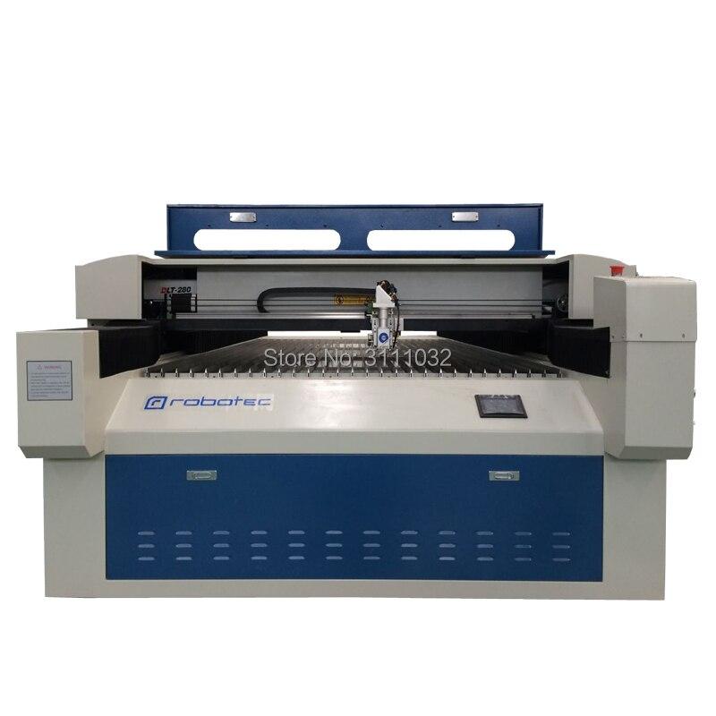 Gute leistung hohe präzision verbesserte flachbett 1325 laserengraver metall-laser-schneidemaschine